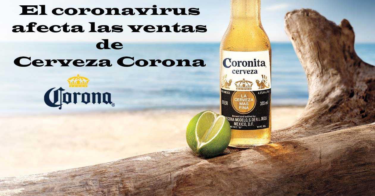 El coronavirus afecta las ventas de cerveza corona
